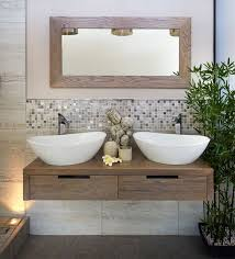 badezimmer mit holz die besten 25 badmöbel holz ideen auf schwarze