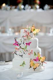 sugar crystal butterflies are such a elegant touch to any wedding
