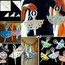 Ballerina Decorations Wonderful Diy Paper Snowflake Ballerina Decoration