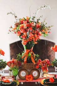 halloween wedding centerpiece ideas top 25 best orange centerpieces ideas on pinterest orange