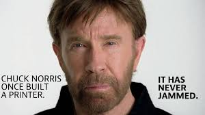 friday fun if chuck norris worked in it