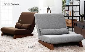canap japonais étage pliage unique siège canapé lit moderne tissu japonais salon