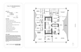 The Parc Condo Floor Plan by 1000 Museum Julian Johnston Real Estate Miawaterfront