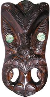 wall masks large maori wall mask shop new zealand