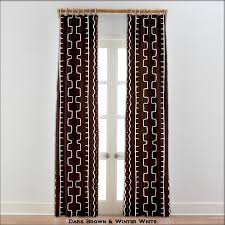 modern african curtain drapes window treatment authentic mudcloth