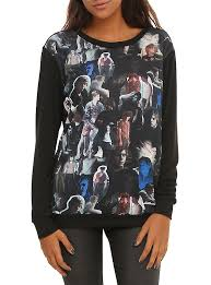 horror sweater horror evan peters collage pullover top