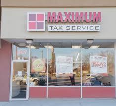 maximum tax service u2013 largest refund guaranteed