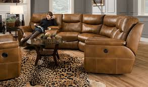baroque reclining sectionalin living room rustic with gorgeous