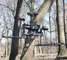 outrageous hunting stands and blinds outdoor life