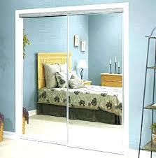 Stanley Bifold Mirrored Closet Doors Closet Door Replacement Parts Bi Fold Closet Door Used Closet