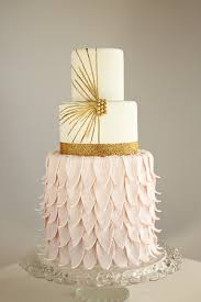 modern wedding cakes 16 gold wedding cake designs for modern and glamorous events