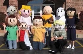 Snoopy Halloween Costume Coolest Homemade Peanuts Comic Strip Costumes
