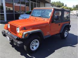 jeep wrangler 4 door maroon orange jeep in california for sale used cars on buysellsearch