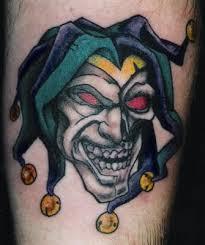 cool clown tattoos