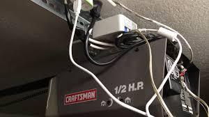 garage door sensor wire garage opener relay page 2 wemo community