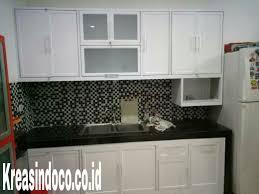 Kitchen Set Aluminium Kitchen Set Aluminium Pemasangan Di Taman Meruya Ilir Kembangan