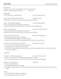 english resume example pdf college graduate resume examples u2013 foodcity me