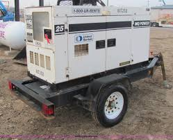 2006 multiquip whisper watt 25 generator item e2527 sold