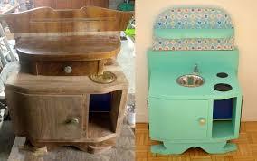 diy cuisine enfant diy une cuisine enfant en bois à fabriquer à partir de récup
