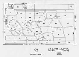 Plot Map Plot Maps Midwest Cemetery Preservation