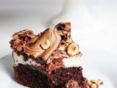 gâteau chocolat noisettes meringué waffles pies and chocolate