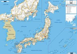 Louisiana Highway Map Road Map Of Japan Ezilon Maps East Asian Federation