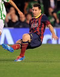 Lionel Messi Leg Barcelona S Lionel Messi Suffers Leg Injury Out Of La Liga For