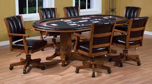 dining room poker table funky and classic game room décor boshdesigns com