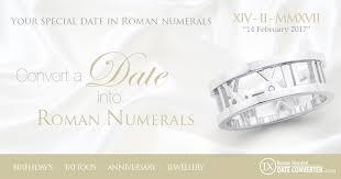 roman numerals date converter birthday wedding anniversary tattoo