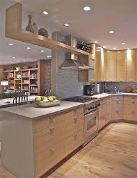 kitchen design with light cabinets oak cabinets kitchen modern with light wood