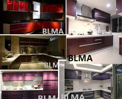 2017 cheap modern kitchen cabinet budget hotel kitchen furniture