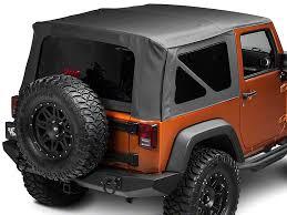 07 jeep wrangler top barricade wrangler replacement top w tinted windows black
