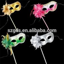 masquerade masks in bulk party stick masks mardi gras wholesale masquerade mask venetian