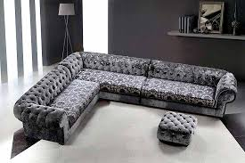 Black Fabric Sectional Sofas Grey Micro Fiber Sectional Sofa Ottoman Fabric Sectional