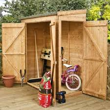 Shiplap Sheds 6 X 4 This Bike Shed Is Perfect To Keep Your Bikes Sheltered This Summer