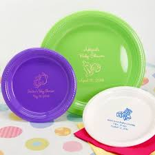 baby plates personalized baby shower plastic plates