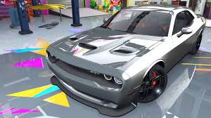 Dodge Challenger 2007 - dodge challenger 2015 add on replace animated template