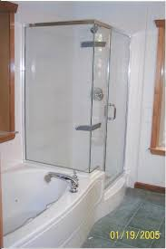 articles with corner bathtub shower combo small bathroom tag