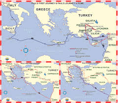 Air New Zealand Route Map by Footsteps Of Apostle Paul And The Cities Of Revelation 15 Days
