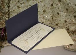 Invitation Cards For Muslim Wedding Navy Blue Muslim Arabic Invitation Ssc1b 0 95 Special