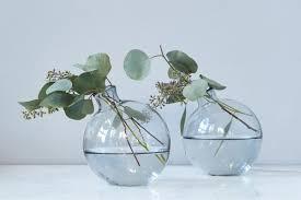 Turquoise Glass Vase Glass Vases Elegant Recycled Glass Flower And Decorative Vases