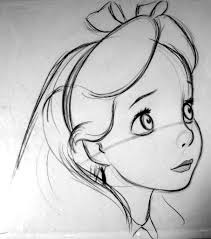 disney cartoon images to draw pencil drawing collection