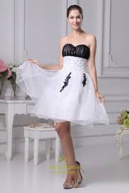 white and black short prom dresses white wedding dresses with
