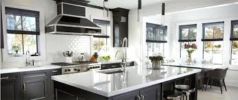 Black Kitchen Cabinet Hardware Kitchen Cabinets Nassau County Modern And Dramatic Black Kitchen