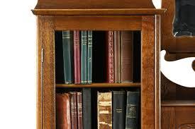 victorian oak 1900 antique side by side secretary desk u0026 bookcase