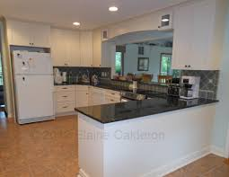 Kitchens With Granite Countertops White Cabinets Medallion Cabinetry Potter U0027s Mill Maple Door Painted Divinity