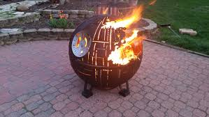 Starfire Fire Pits - star wars inspired death star fire pits are handcrafted with the force