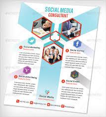 social media brochure template 20 social media flyers free psd ai eps format free