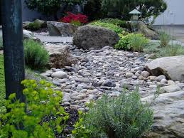 Backyard Rock Garden by Garden Design Garden Design With River Rock Landscaping U