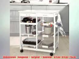 meuble de rangement cuisine a roulettes sobuy fkw04 w desserte à roulettes meuble rangement cuisine roulant